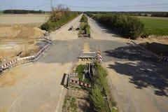 Fettkohle - früher Autobahn A4 nahe Kerpen-Buir Lizenzfreies Stockfoto