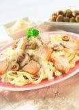 Fettuccine Stock Images