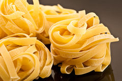Fettuccine closeup Stock Photo