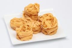Fettuccine italian pasta Royalty Free Stock Images