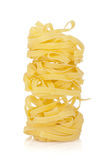 Fettuccine nest pasta Stock Images