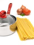 Fettuccine Pasta Royalty Free Stock Images