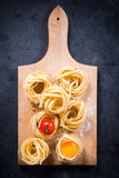 Fettuccine pasta Royalty Free Stock Photos