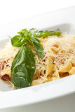 Fettucine Carbonara Photos stock