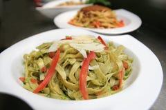 Fettucine marinara seafood Stock Photo
