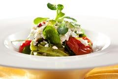 Fettucine verde Imagem de Stock Royalty Free