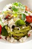 Fettucine verde Fotografia de Stock