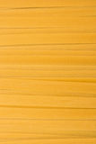 Fettucini pasta. Close up of the Fettucini  Pasta Uncooked Stock Photo