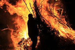 feu Image libre de droits