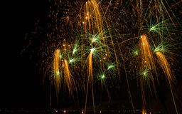 Feu d'artifice Images stock