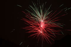 Feu d'artifice Photographie stock libre de droits