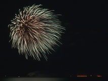 Feu d'artifice photo stock