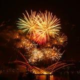 Feu d'artifice lumineux de célébration Photographie stock