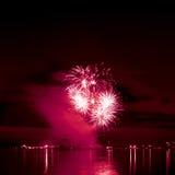 Feu d'artifice lumineux de célébration Image libre de droits