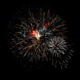 Feu d'artifice lumineux de célébration Images stock