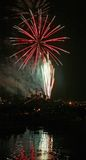 Feu d'artifice parfait Photo stock