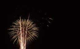 Feu d'artifice/pyrotechnie Photographie stock libre de droits