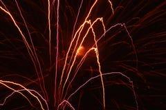Feu d'artifice/pyrotechnie Photos libres de droits