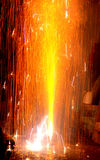 Feu d'artifice sur Diwali Photos stock