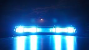 Feu de balisage de police Image stock