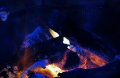 Feu de camp Photo libre de droits