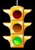 Feu de signalisation Images stock