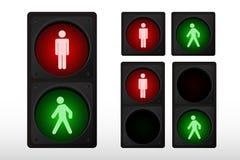 Feu de signalisation illustration libre de droits