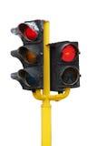 Feu de signalisation rouge Image stock