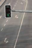 Feu de signalisation vert Photographie stock libre de droits