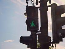 Feu vert Photographie stock libre de droits