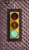 Feu vert Photo libre de droits