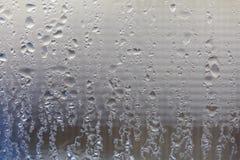 Feuchtigkeit auf Fenster Lizenzfreie Stockfotos