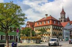 Feuchtwangen, Германия стоковые фотографии rf