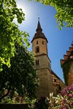 Feuchtwangen город в Баварии стоковые изображения