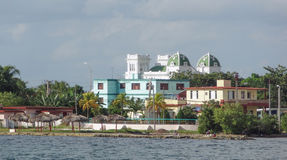 Feudalgebäude in Kuba Lizenzfreies Stockbild