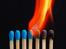 Feuer - 02 Stockbild