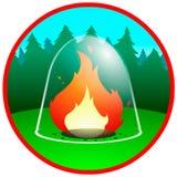 Feuer lizenzfreie abbildung