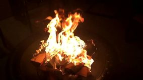 Feuer stock footage