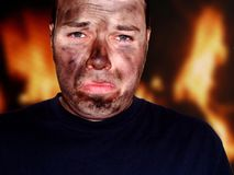 Feuer-Abbrüche Lizenzfreie Stockfotos