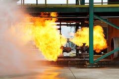 Feuer auf Basis Lizenzfreie Stockfotografie
