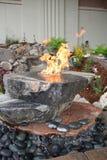 Feuer auf Wasser Lizenzfreie Stockbilder