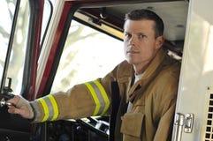Feuer-Ausrüstungs-Bediener Stockbilder