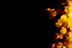Feuer bokeh Hintergrund Lizenzfreies Stockfoto