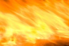 Feuer brennt mit Wind durch Stockbilder
