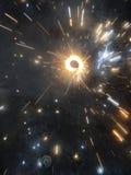 Feuer-Cracker während Diwali lizenzfreie stockfotografie