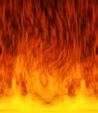 Feuer in der Mitte Stockfoto