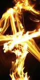 Feuer-Effekt stockfotografie