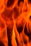 Feuer in einem Kamin Lizenzfreie Stockfotografie