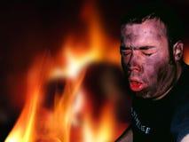 Feuer-Entweichen lizenzfreies stockbild
