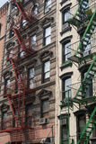 FEUER-ENTWEICHEN NEW YORK Stockfotos